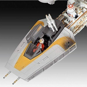 Cabina maqueta Y-Wing fighter Revell