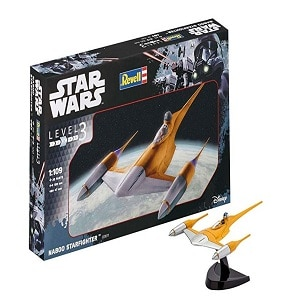 Revell Star Wars Naboo Starfighter, Kit modele